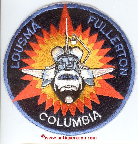 space shuttle columbia mission patch - photo #33
