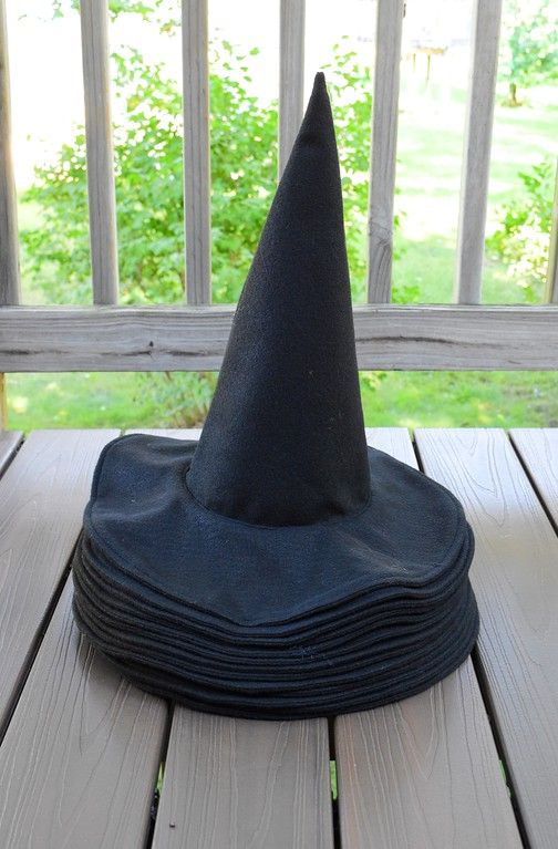 ikat bag harry potter party witch or wizard hat tutorial