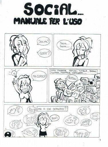 #social #mycomics #fumetto pagina1