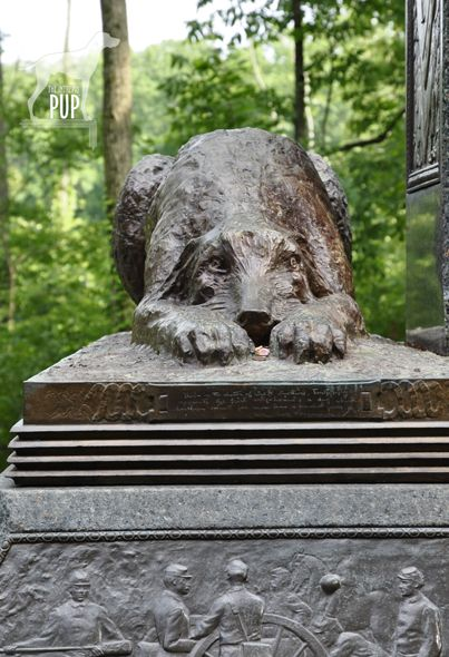 irish wolfhound celtic cross monument | Gettysburg ...