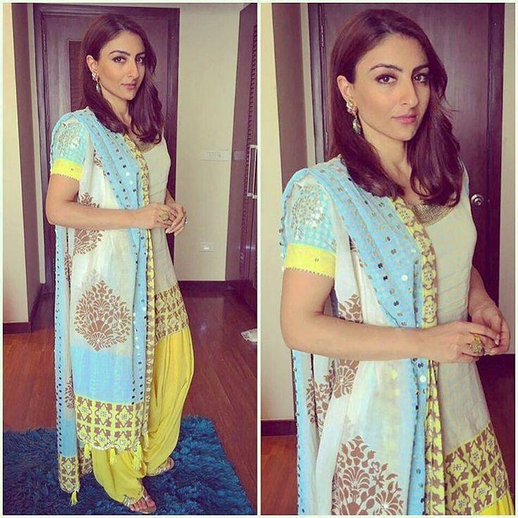 Patiala pegged in @sukritiandaakritiofficial accessorised by @minerali_store @rahejavarun styled by @neha.bijlaney