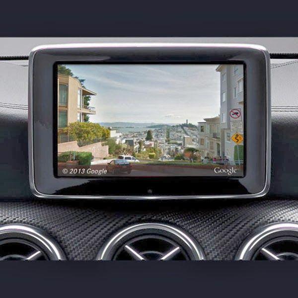 Media Belajar : Mercedes-Benz dengan Google Map