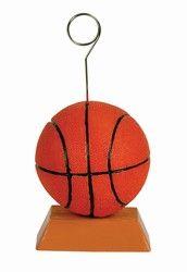 Basketball Polystone Photo/Balloon Holder