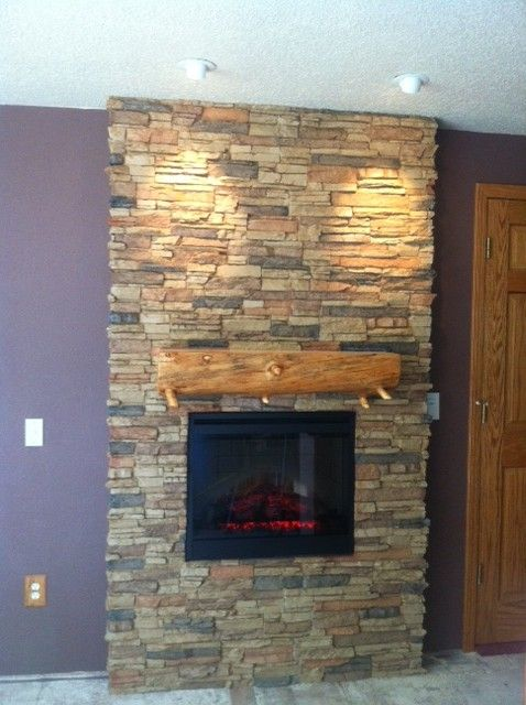 Stacked Stone Veneer Panels Offbeat Charm For Less Decorating Pinterest For Less Charms