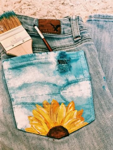 Pinterest Carolinefaith417★ In 2019 Diy Clothes Denim Art Painted Jeans