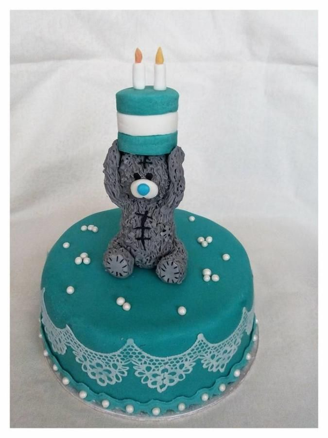 Me to you bear... - Cake by Petra