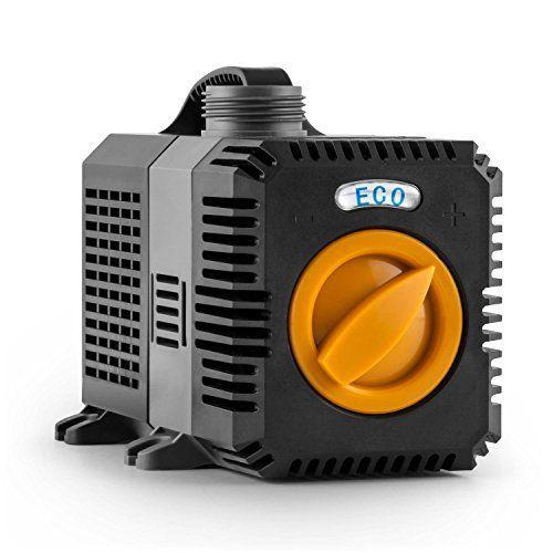 Electronic-Star Lagoon Eco – Pompe submersible pour bassin, fontaine, collecteur d'eau (4500 l/h, 30W, adaptateurs): Price:71.49Pompe…