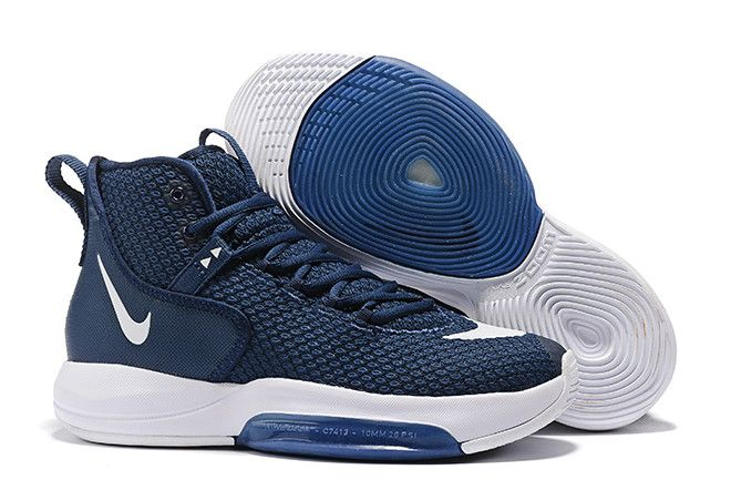 Nike Zoom Rise 2019 Navy Blue White Men S Sneakers Sneakers Men Wholesale Nike Shoes Nike Zoom