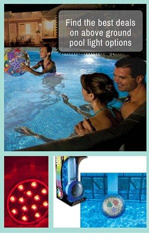17 Best Images About Above Ground Pool Light On Pinterest