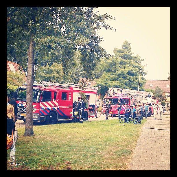 Fire in our neighborhood.