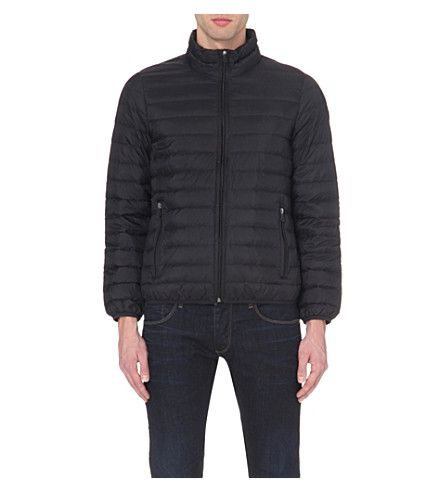 ARMANI JEANS - Quilted shell jacket | Selfridges.com