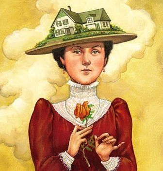 i love Lucy Maud Montgomery but that's a hideous hat- Depiction of Lucy Maud Montgomery