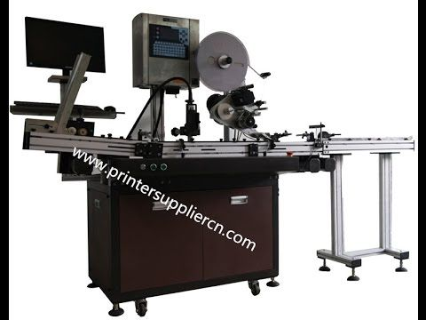 Lottery Ticket Printing Machine Raffle Label Machine Card Label Applicator
