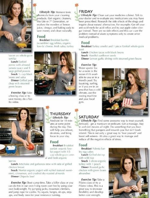 Jillian's Metabolism-Boosting Weekly Plan (2)Fit Thinspiration, Jillian Michael, Healthy Lifestyle, Healthy Habits, Healthy Recipe, Healthy Food, Fit Life, Health Fit, Healthy Living