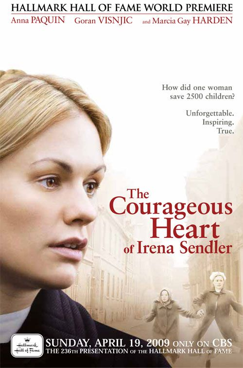 The courageous heart of Irena Sendler.  Her story is one everyone should know. She bravely smuggled 2500 Jewish children out of the Warsaw Ghetto and found Polish families and group homes to hide them, all the while keeping track of the location of each child so they could be returned to any remaining family when the war ended.