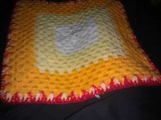 Cushion cover.