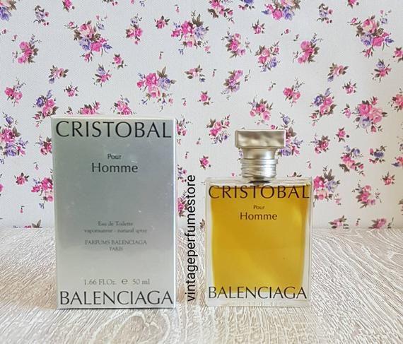 économiser 2899a 205b3 Cristobal balenciaga pour homme 1.66 oz / 50ml edt brand new ...