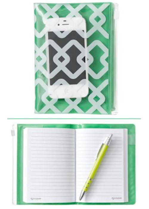 A6 Zip Closure Notebook