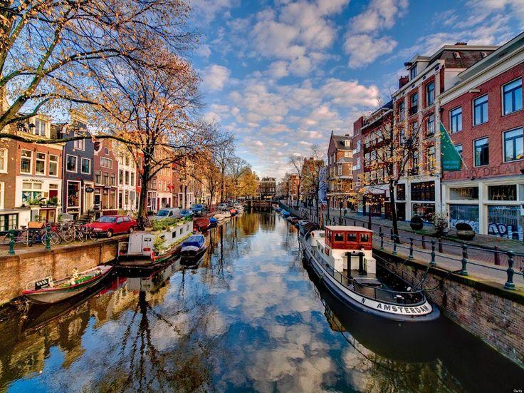 viajar sola amsterdam