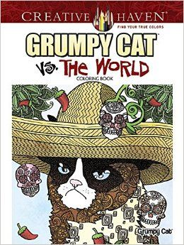 Amazon.com: Creative Haven Grumpy Cat Vs. The World Coloring Book (Adult Coloring) (0800759808144): Diego Jourdan Pereira: Books
