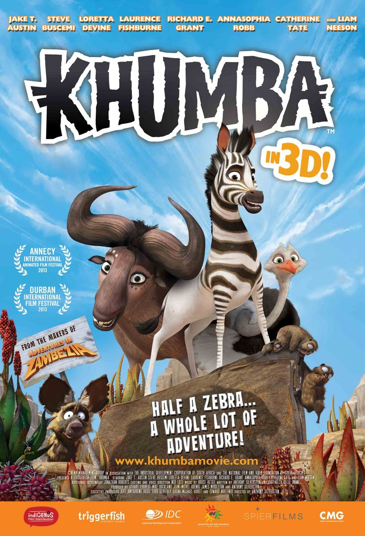 Say hello to KHUMBA releasing on the 25th of OCT in cinemas nationwide across South Africa.  Remember to LIKE https://www.facebook.com/khumbamovie or follow @KhumbaMovie for exclusive pics and behind the scenes footage from Triggerfish Animation's next exciting animated adventure.