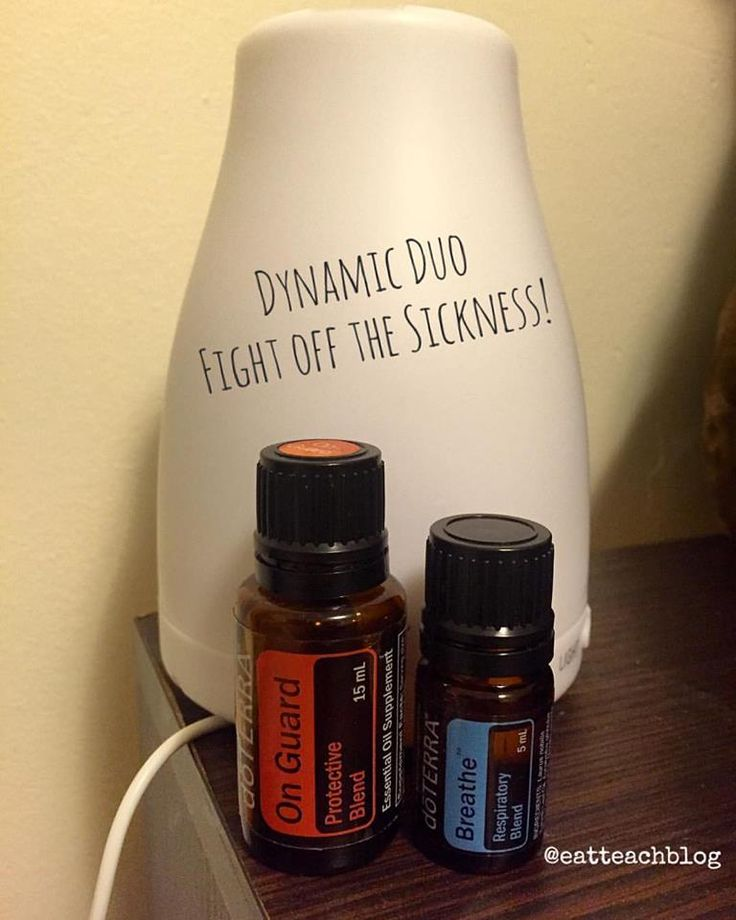 On Guard (Protective Blend) and Breathe (Respiratory Blend) are getting me through this flu season. Here are ways you can use them in your home! #Doterra