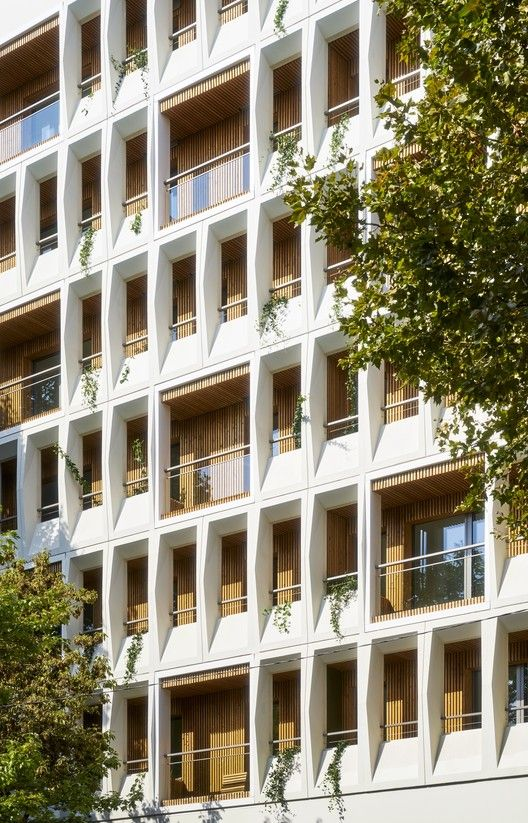 Transformation of Office Building To 90 Apartments,© Michel Denancé