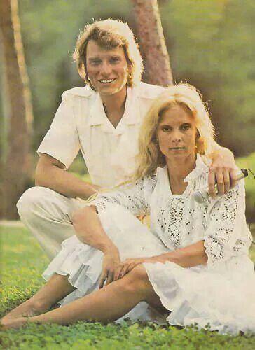 Johnny Hallyday et Sylvie