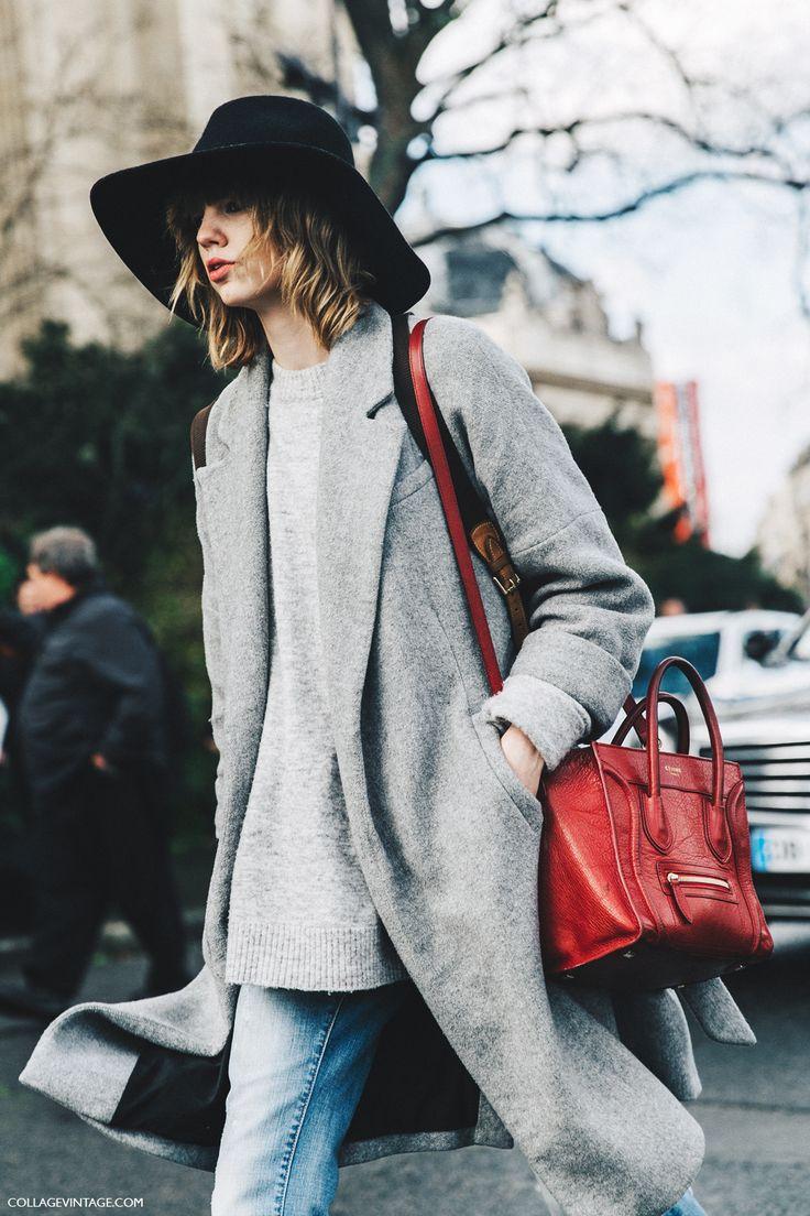 PFW-Paris_Fashion_Week_Fall_2016-Street_Style-Collage_Vintage-Grey-Coat-Celine_Bag-1