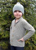 Кардиган для мальчика Forest Walk Kid - Вяжи.ру