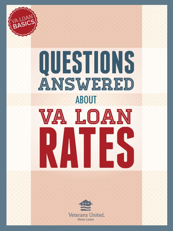VA Loan Basics: VA Loan Rates #home  #Loan #RealEstate