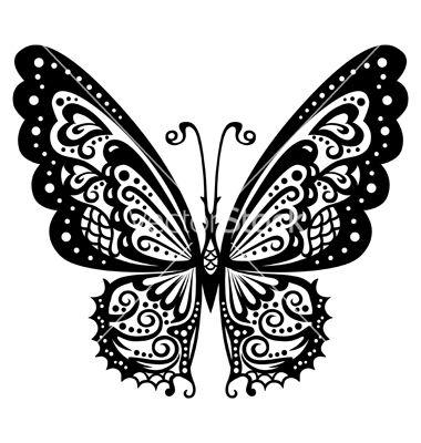 lace butterfly design - Recherche Google