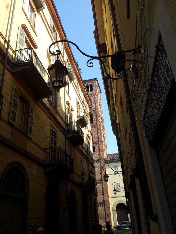 #Torino le strade del centro storico