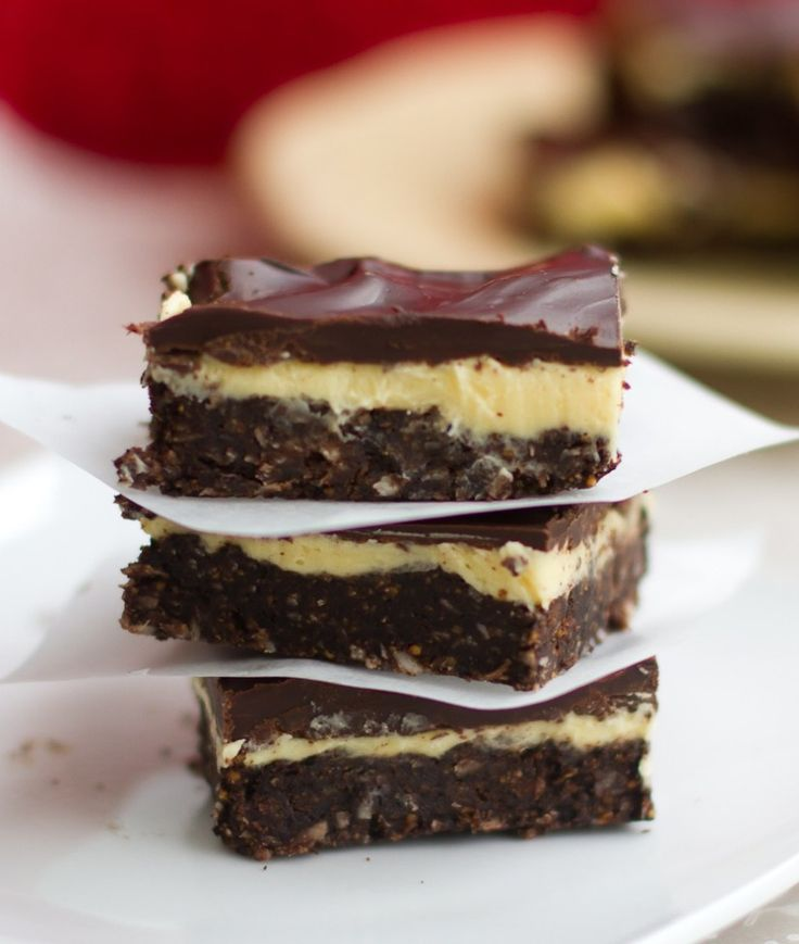 """nanaimo bar - I don't make the """"best ever"""" claim often, but as something of a Nanaimo bar fanatic, I have tried, and will continue to try, many a Nanaimo bar in many a place, and, call me biased, but I like mine the best. Ever."""