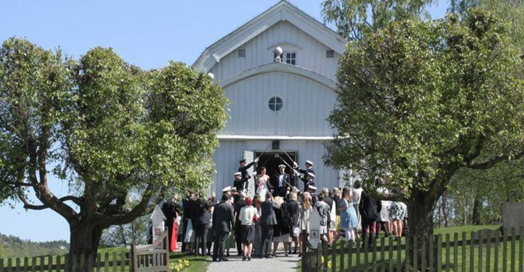 Ingarö kyrka militär bröllop!