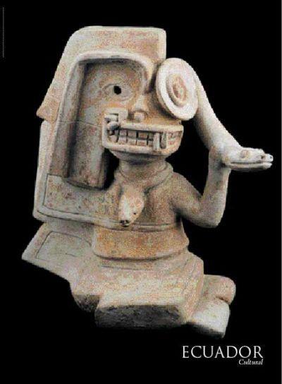 La Tolita. 600 a.C. - 400 d.C., Museo del Banco Central :