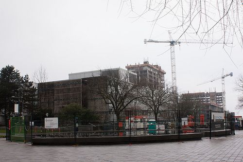 Under Construction: Martha Piper Plaza | Flickr - Photo Sharing!