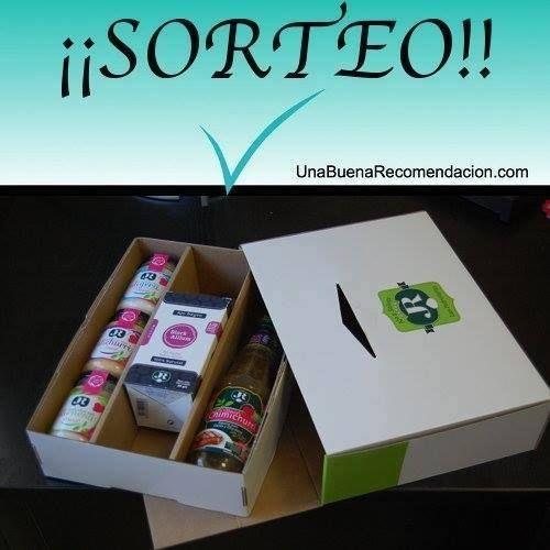 Sorteo Lote Salsas Saludables JR