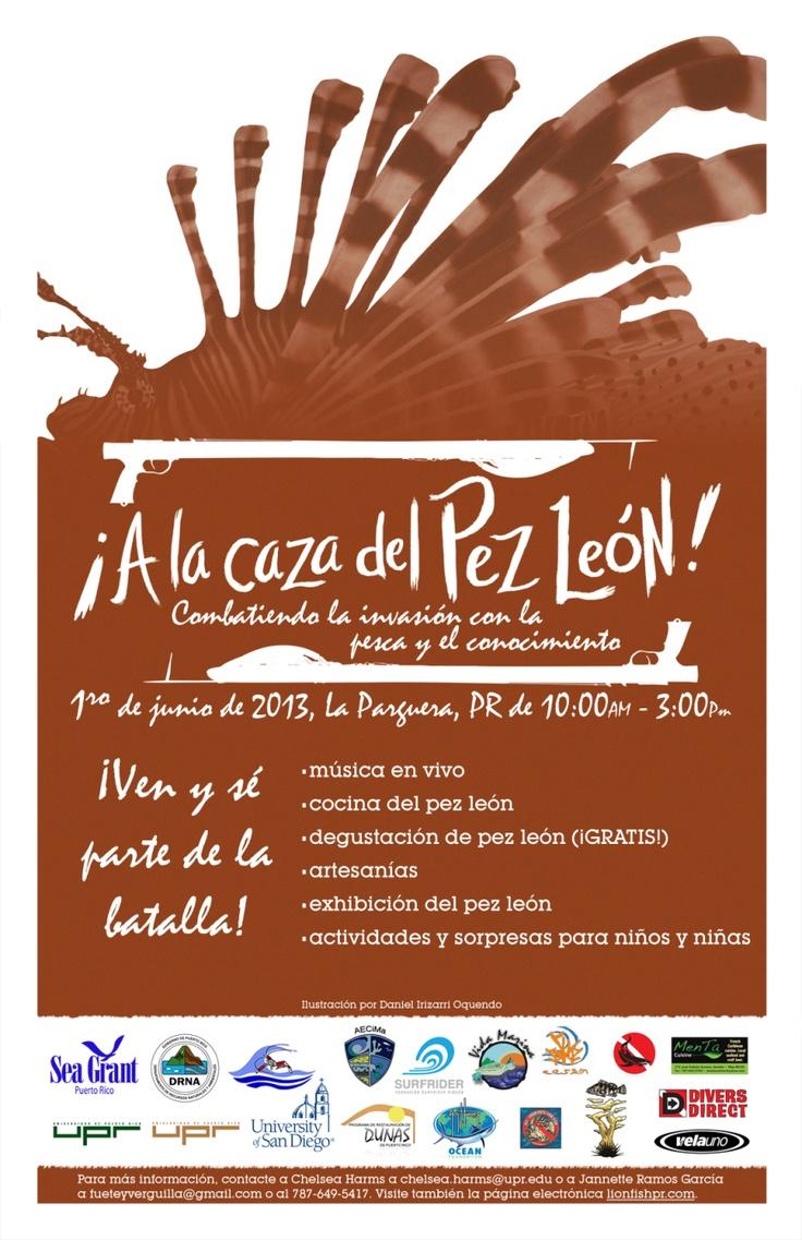 Pesca y Degustación en La Parguera del Invasor Pez León @ La Parguera, Lajas