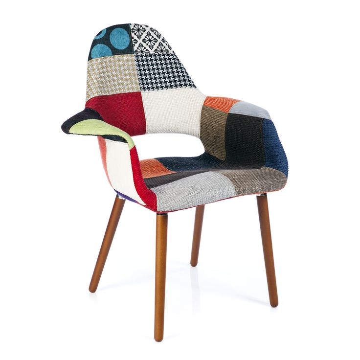 Eames Chair Organic Style Patchwork