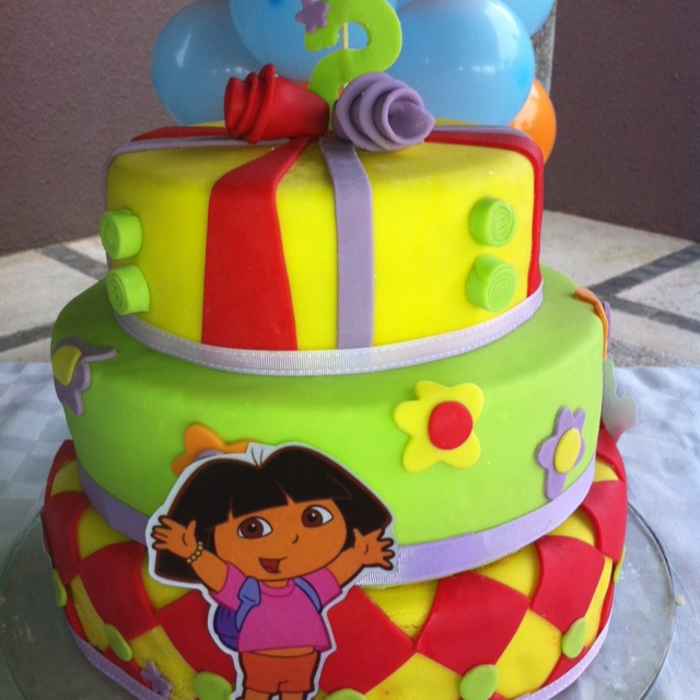 Cake Design Dora L Exploratrice : Dora birthday cake Cakes ideas Pinterest Birthday ...