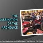 A visually engaging ppt lecture that tells the story of the assassination of the Archduke Franz Ferdinand in 1914.    This ppt. lecture can be used...