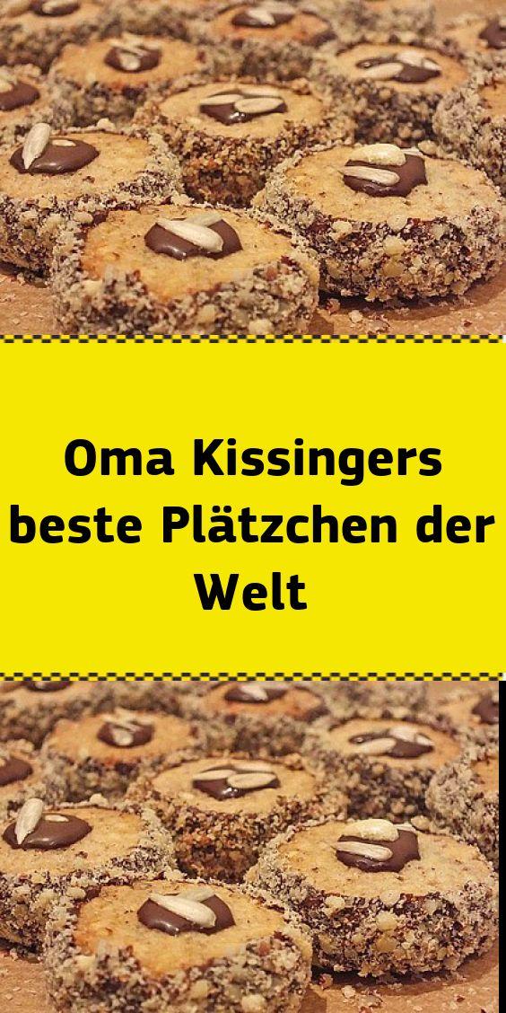 Oma Kissingers bestes Plätzchen der Welt