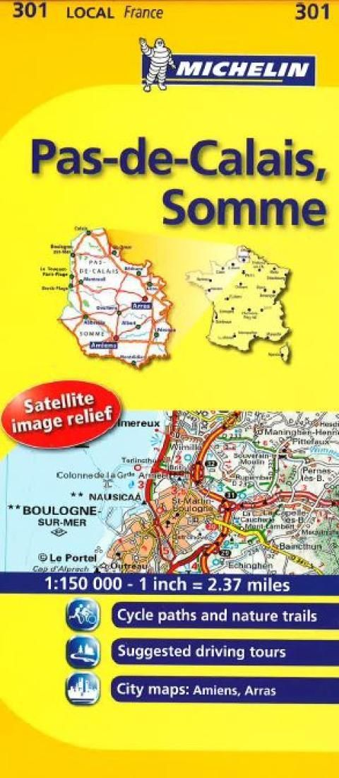 Pas-de-Calais, Somme (301) by Michelin Maps and Guides