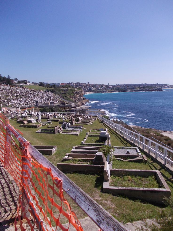 Most scenic cemetery in the world? Waverley, Sydney, Australia.