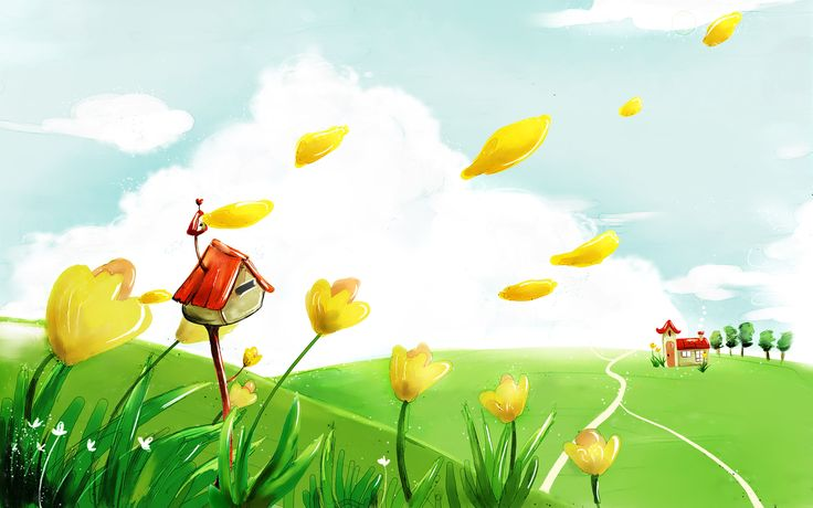 cartoon wallpapers free vector illustration cartoon wallpapers