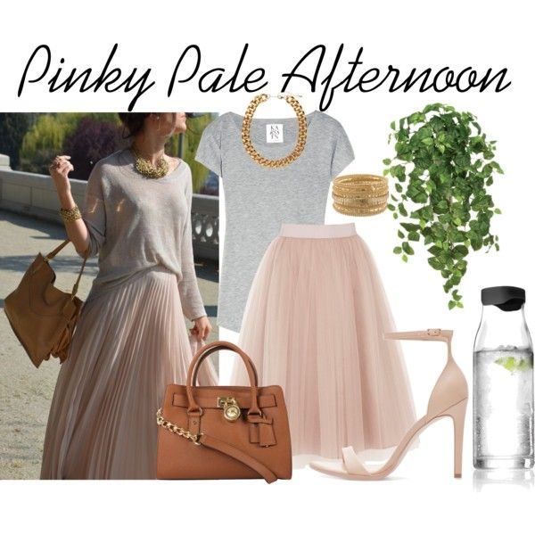"""Pinky Pale Afternoon"" by bloobaz on Polyvore"