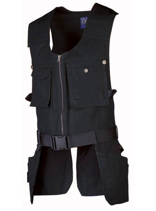 Projob Beroepskleding Vest (PRO09-5701)m - Would look great as a Han Solo outfit!