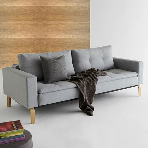 Murphy is the sofa bed solution. Bed Size:79″ x 55″ (Extra Long Double) Comes apart to easily fit up stairs, around corners and thru doorways. Murphyopens to