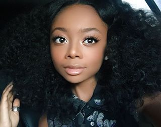 This is 14-year-old Skai Jackson. She acts in the Disney Channel series Bunk'D and is the star of one of the greatest memes on the internet right now. | Skai Jackson Just Shut Down Azealia Banks In The Most Perfect Way